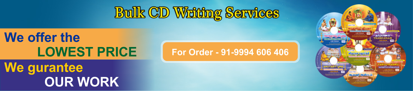 bulk cd writing in chennai