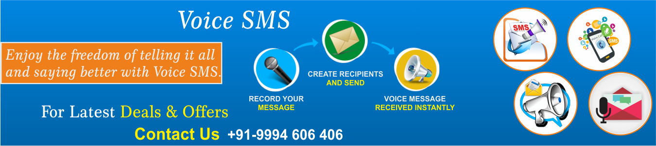 voice sms service providers in india
